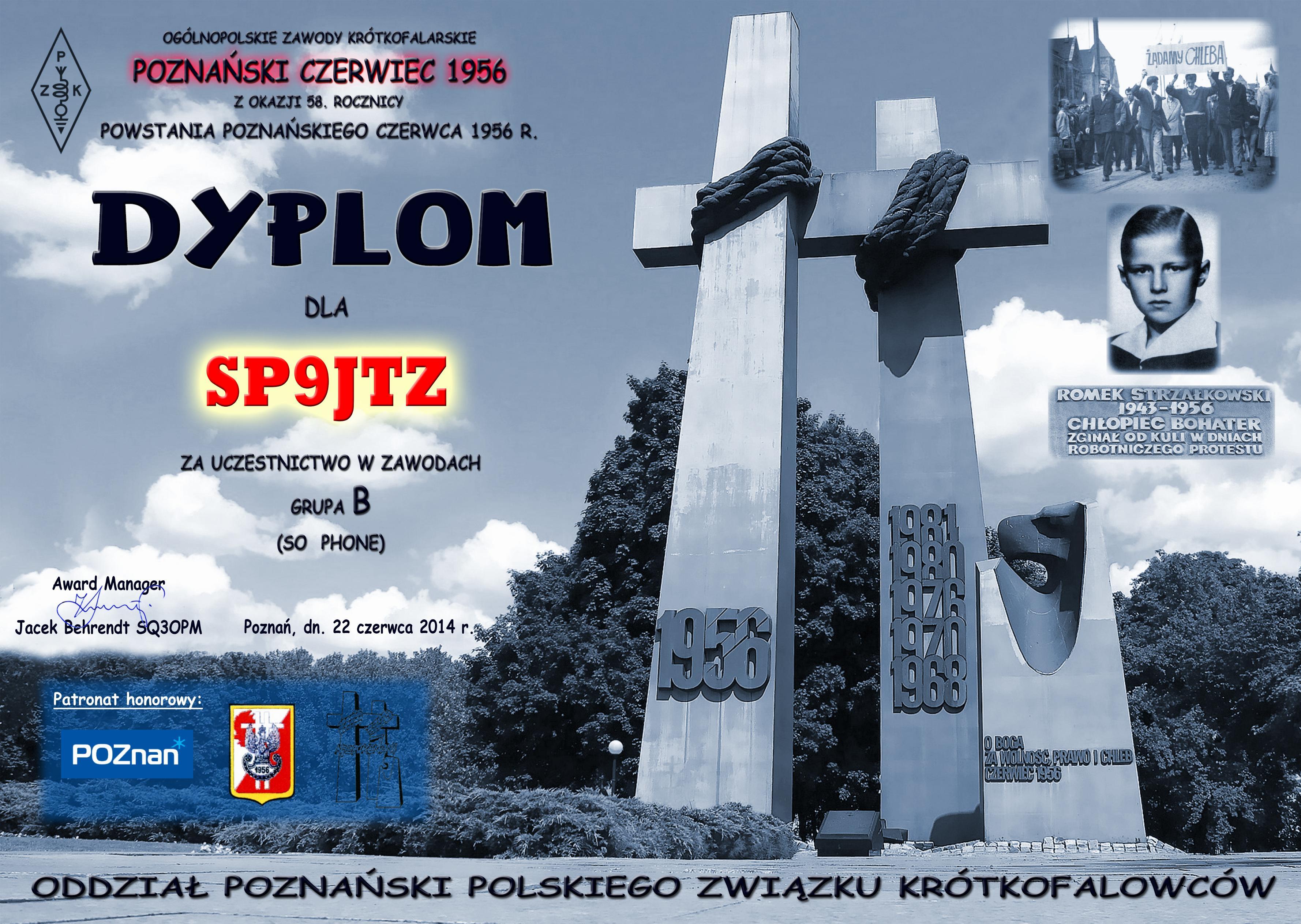 Poznanski czerwiec 2014